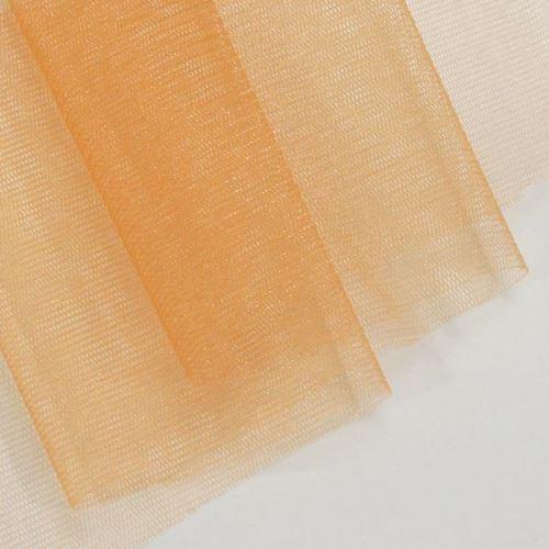 Tyl lesklý N3283, light orange š.155