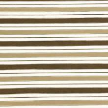 Košeľovina 06448 béžová, hnedý pruh, š.140