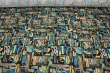 Úplet modrohnedé, číslice š.150