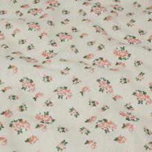 Dekoračná látka, drobné ružové kvety, š.145