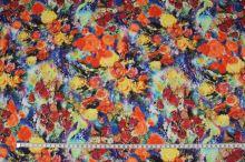 Šatovka N3507, farebný kvet š.140