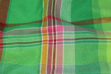 Kanafas, farebné káro 17080, š.140