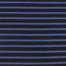 Úplet 19355, modro-čierny pruh, š.175