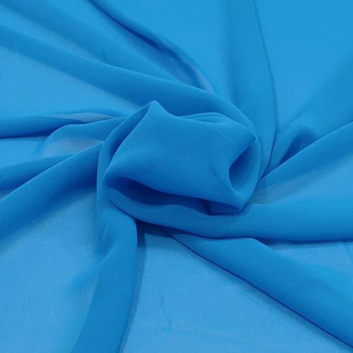 Šifon blankytně modrý, š.145