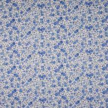 Šatovka 21841, modré drobné květy, š.145
