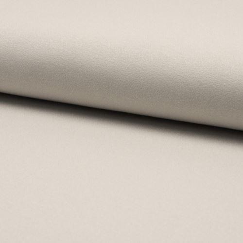 Úplet žoržet DE LUXE světle šedý, 260g/m, š.145