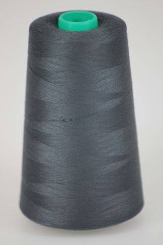 Niť KORALLI polyesterová 120, 5000Y, odtieň 9470, šedá