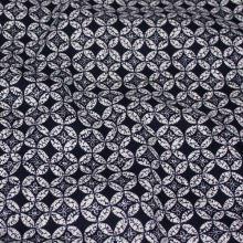 Bavlna modro-biely vzor, š.145