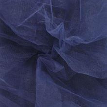 Tyl závojový tmavě modrý š.180
