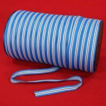 Tkanice modro-biela, šírka 10mm