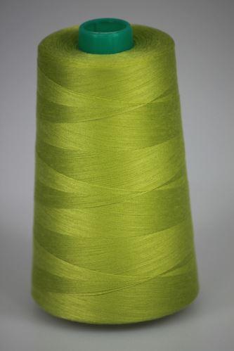 Nit KORALLI polyesterová 120, 5000Y, odstín 6835, zelená
