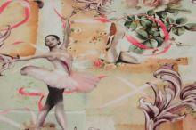Úplet balerína v ružiach, š.160