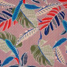 Šatovka vzorovaná, farebné listy, š.140