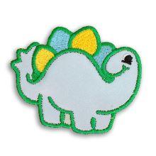 Reflexná nažehlovačka veľká - Stegosaurus