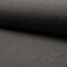 Teplákovina počesaná antracit melanž, farebné bodky, š.160