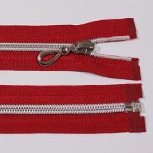 Zips špirálový 6mm dĺžka 50cm, farba 148 (deliteľný) so striebornými zúbkami