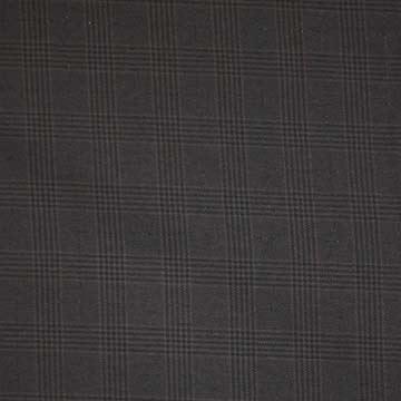 Kostýmovka hnedočierna káro, š.140