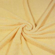 Froté žluté, bavlněné, 340g/m, š.150