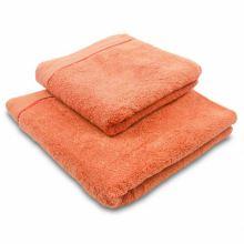 Ručník mikrobavlna Sleep Well 50x100 cm, oranžový