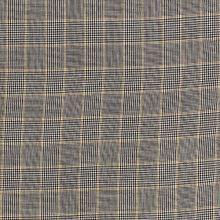 Košilovina 20330, šedo-žluté káro, š.140