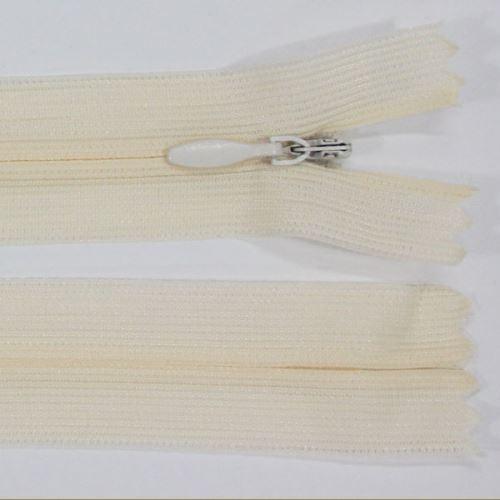 Zips skrytý šatový 3mm dĺžka 55cm, farba 306