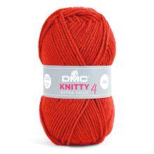 Příze KNITTY 4 50g, ostře červená - odstín 690