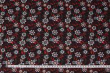 Šatovka květovaná, zeleno-červené lístky, š.145