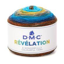 Priadza REVELATION 150g, farebný mix - odtieň 208