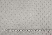 Minky šedo-béžové, protlačované ťuplíky, š.150