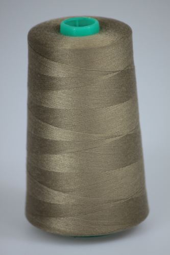 Niť KORALLI polyesterová 120, 5000, odtieň 7335, béžová
