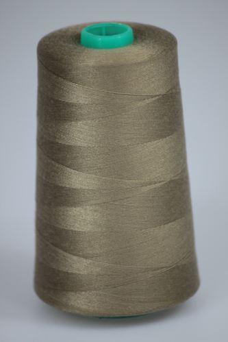 Nit KORALLI polyesterová 120, 5000Y, odstín 7335, béžová