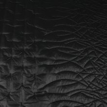 Prešiv čierny G0048, š.145