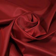 Podšívka červená, šikmý proužek, š.150