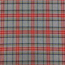 Kostýmovka šedá, škótske káro, š.145