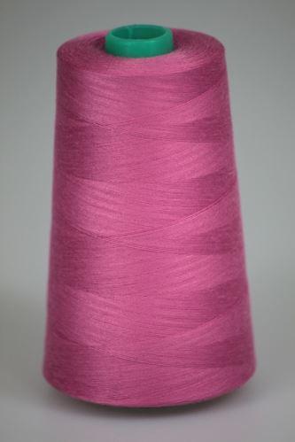 Niť KORALLI polyesterová 120, 5000, odtieň 3465, ružová