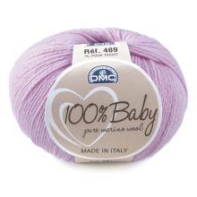 Priadza 100% BABY 50g, lila - odtieň 061