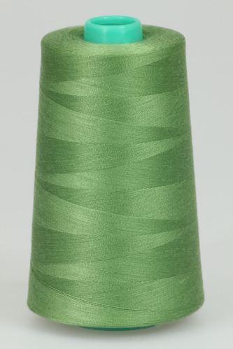Niť KORALLI polyesterová 120, 5000Y, odtieň 6360, zelená