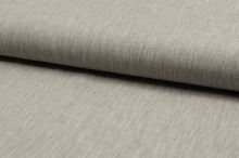 Ľanová kostýmovka, krémovo-sivá, š.135
