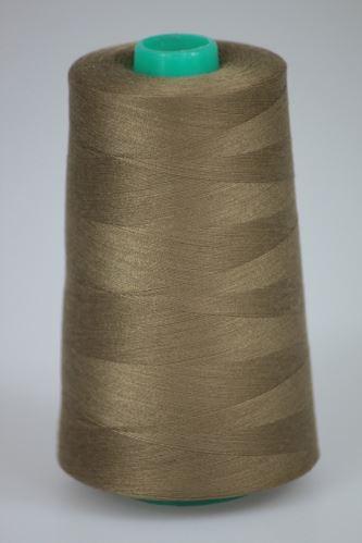 Nit KORALLI polyesterová 120, 5000Y, odstín 8285, hnědá