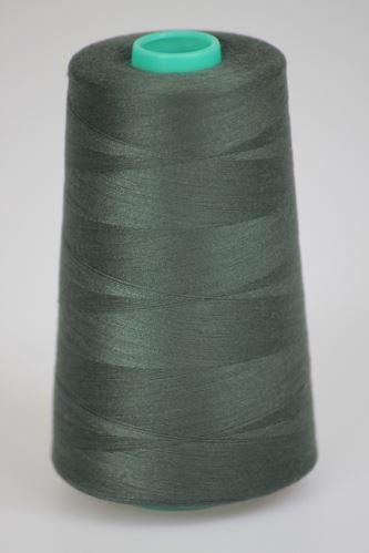 Niť KORALLI polyesterová 120, 5000Y, odtieň 6985, šedá