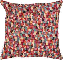 Dekoračný vankúš farebné trojuholníky, 45x45 cm