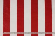 Lehátkovina červeno-biely pruh, š.60