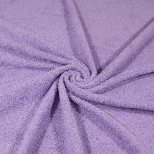 Froté lila, bavlněné, 340g/m, š.150