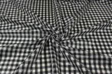 Podšívka čierno-biele káro, š.150