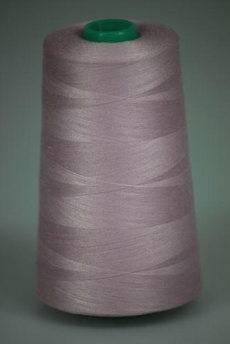 Niť KORALLI polyesterová 120, 5000Y, odtieň 3435, ružová