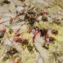 Úplet 17881, farebné kvety, š.145