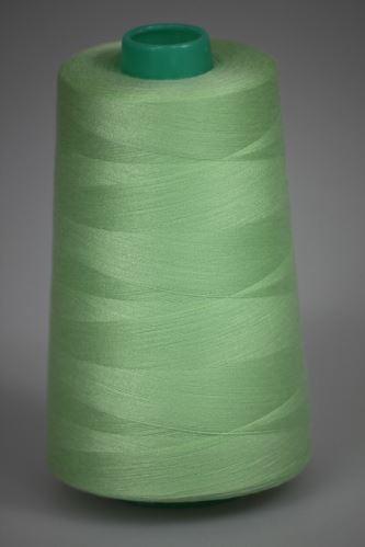 Niť KORALLI polyesterová 120, 5000Y, odtieň 6705, zelená