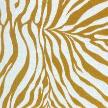 Dekoračná látka krémovo-žltá zebra, š.275