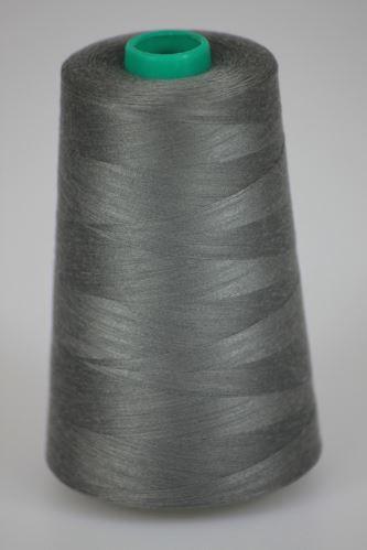 Niť KORALLI polyesterová 120, 5000Y, odtieň 9260, šedá