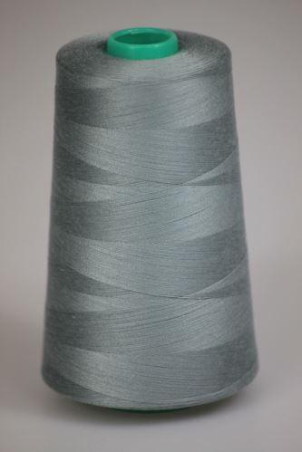 Niť KORALLI polyesterová 120, 5000Y, odtieň 5160, šedá